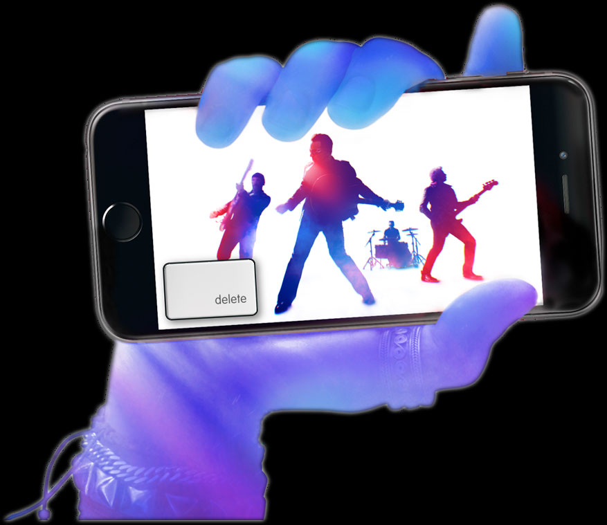 iPhone 6 launch with U2