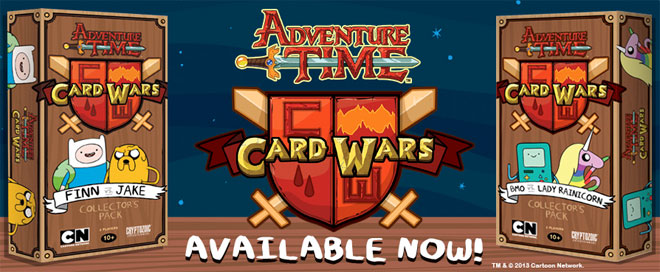 Card Wars game from Cryptozoic Entertainment