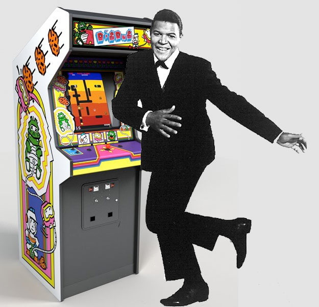 Chubby Checker sings about Atari's Dig Dug