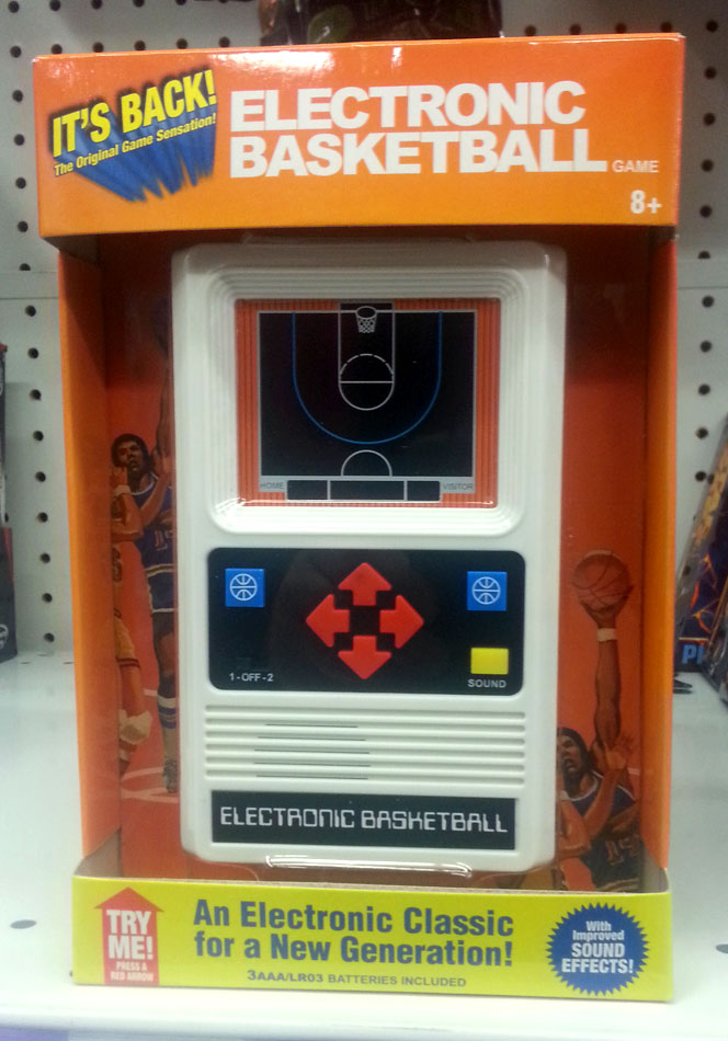 Basic Fun's Electronic Basketball
