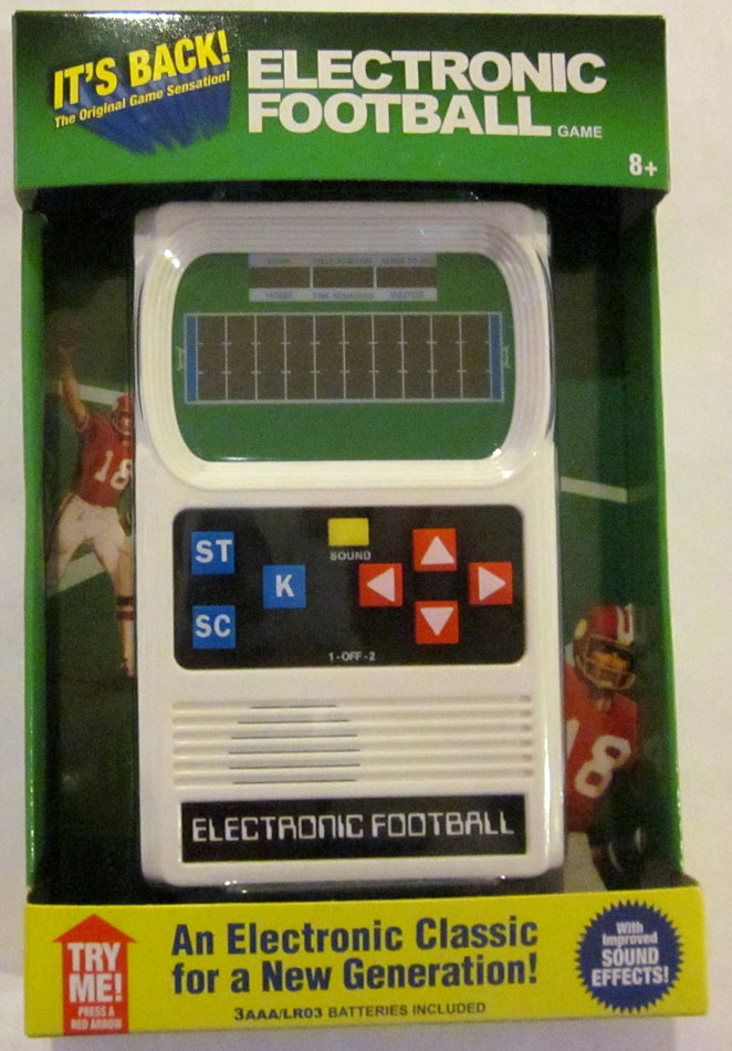 Basic Fun's Electronic Football