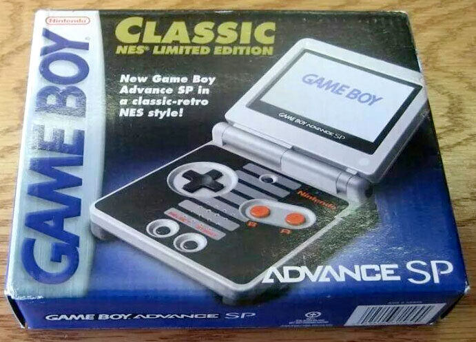 NES-inspired Game Boy Advance SP