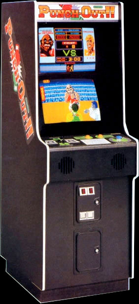 Punch-Out arcade game