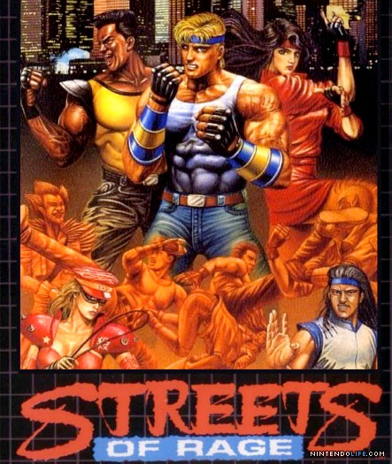 3D Streets Of Rage for 3DS