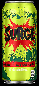 Coca-Cola's SURGE drink is back in 2014