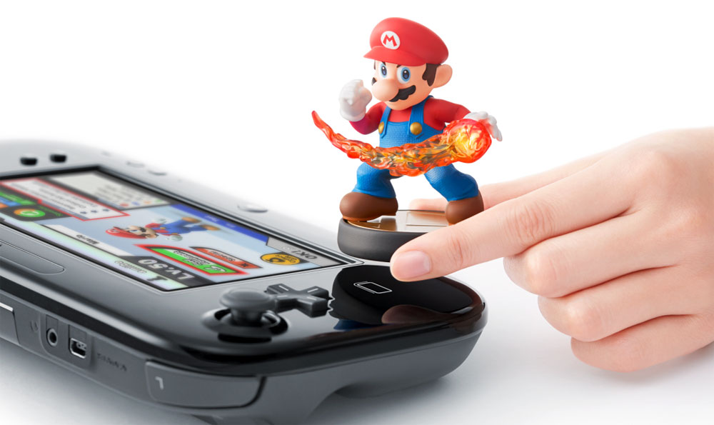 Wii U with built-in NFC