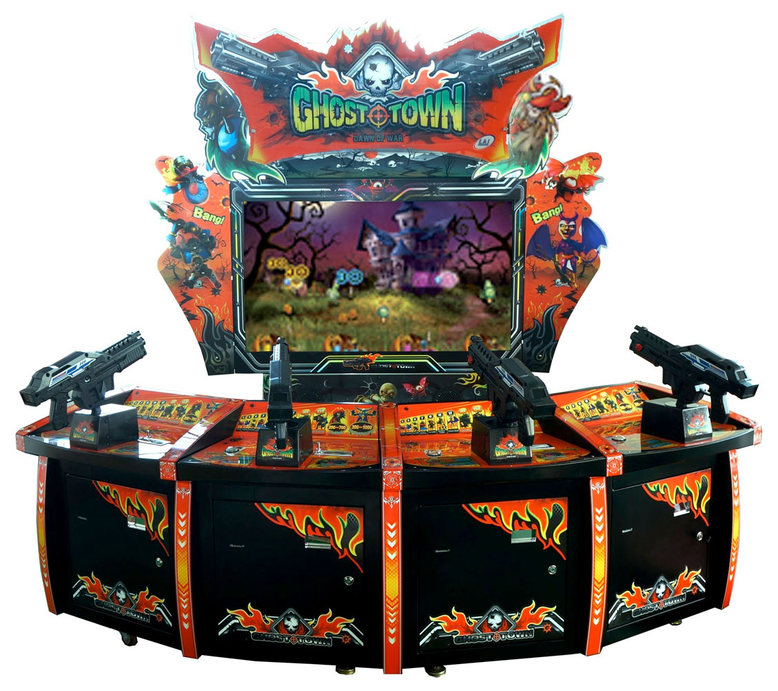 Ghost Town videmption video game