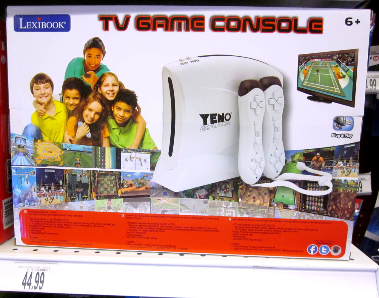 TV Game Console 200 Jeux