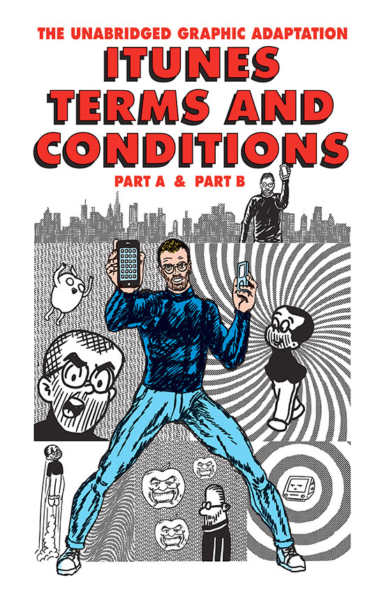 iTunes Terms & Conditions graphic novel
