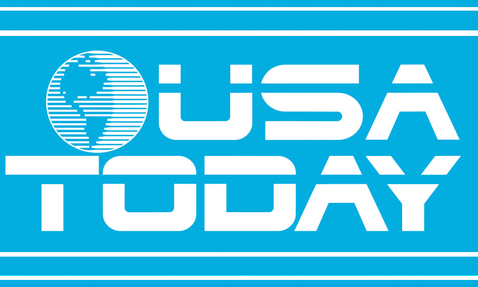 USA TODAY logo from Back To The Future