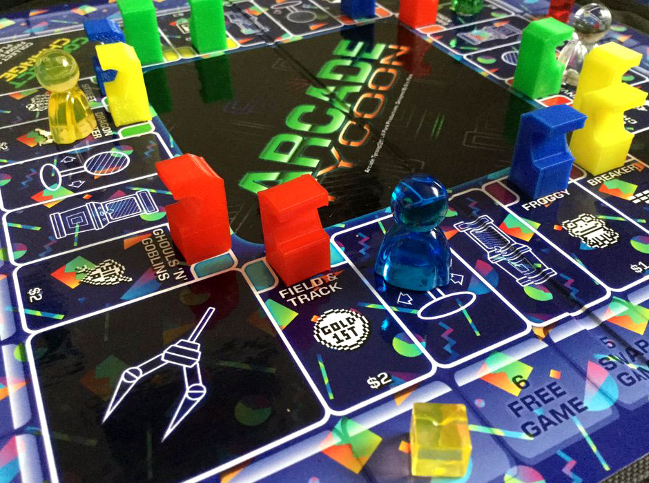 Arcade Tycoon mini board game