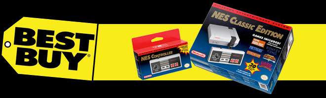 Best Buy getting more NES Classic Editions