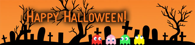 Happy Retro Gaming Halloween