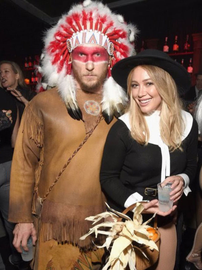 Hilary Duff gets flack for traditional costume