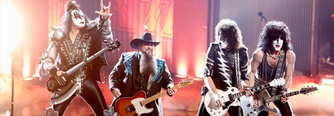 Kiss join Sundance Head in The Voice finale