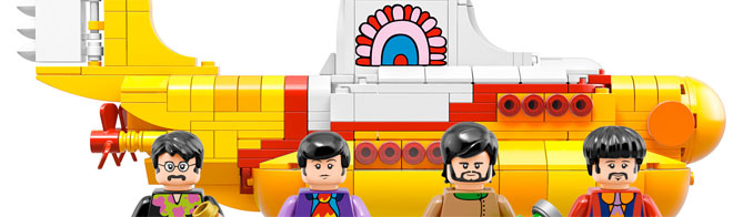 LEGO Beatles Yellow Submarine