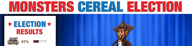 General Mills Monster Cereal Election