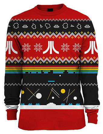 Atari Christmas sweater