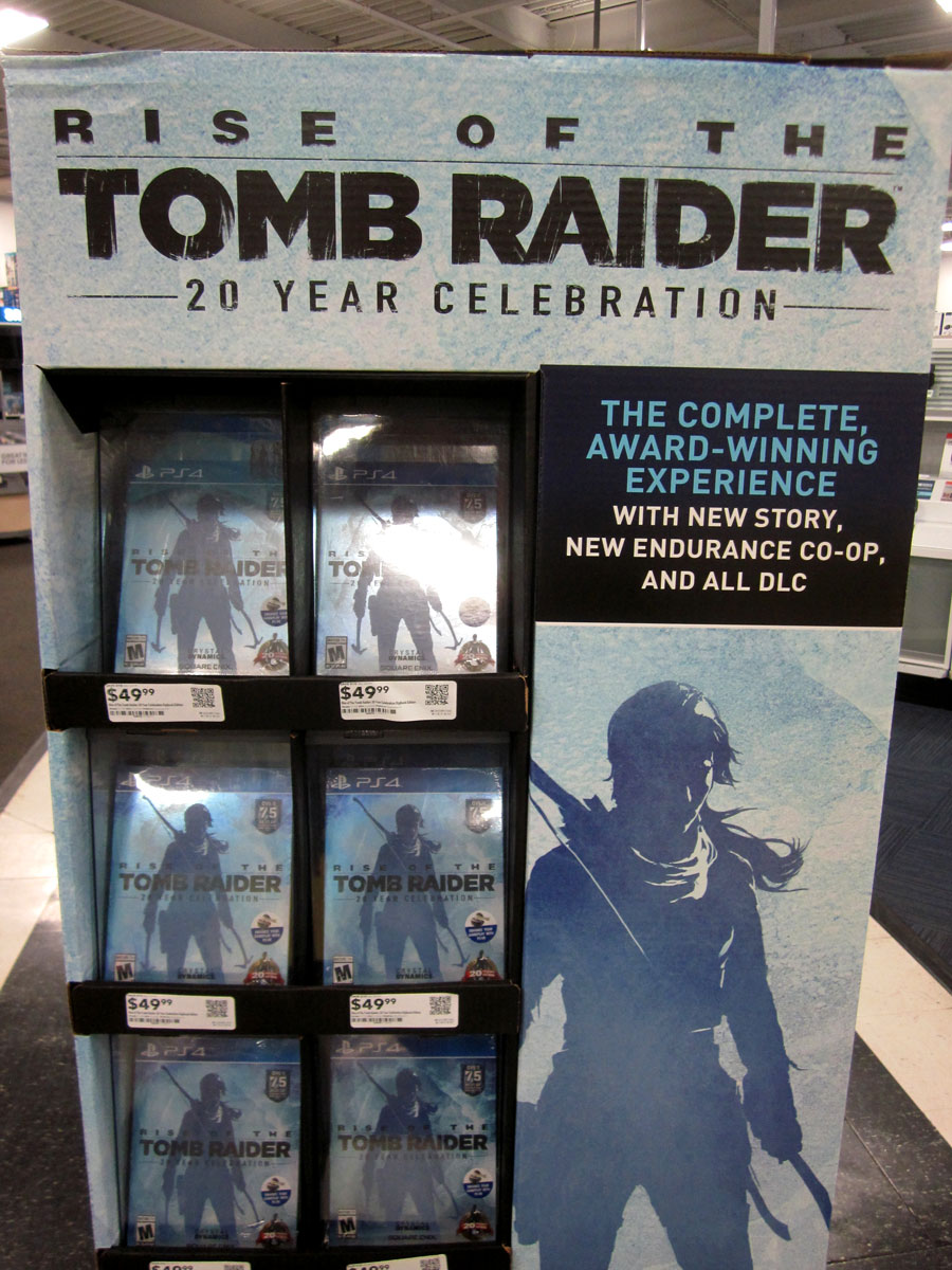 Tomb Raider display