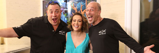 Alyssa Milano on Tanked