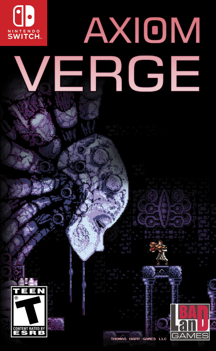 Axiom Verge for Switch
