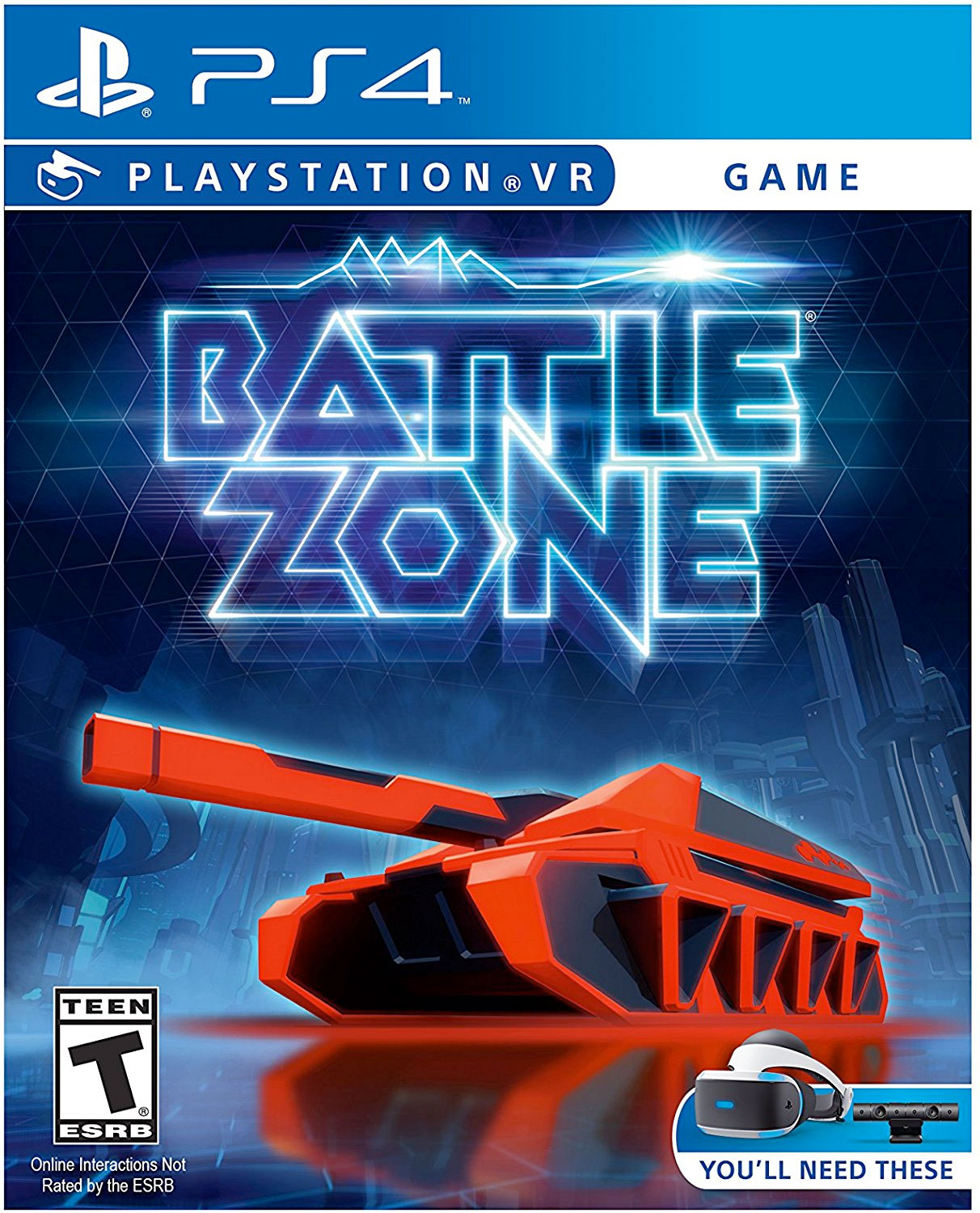 Battleaone VR for PS4 Pro