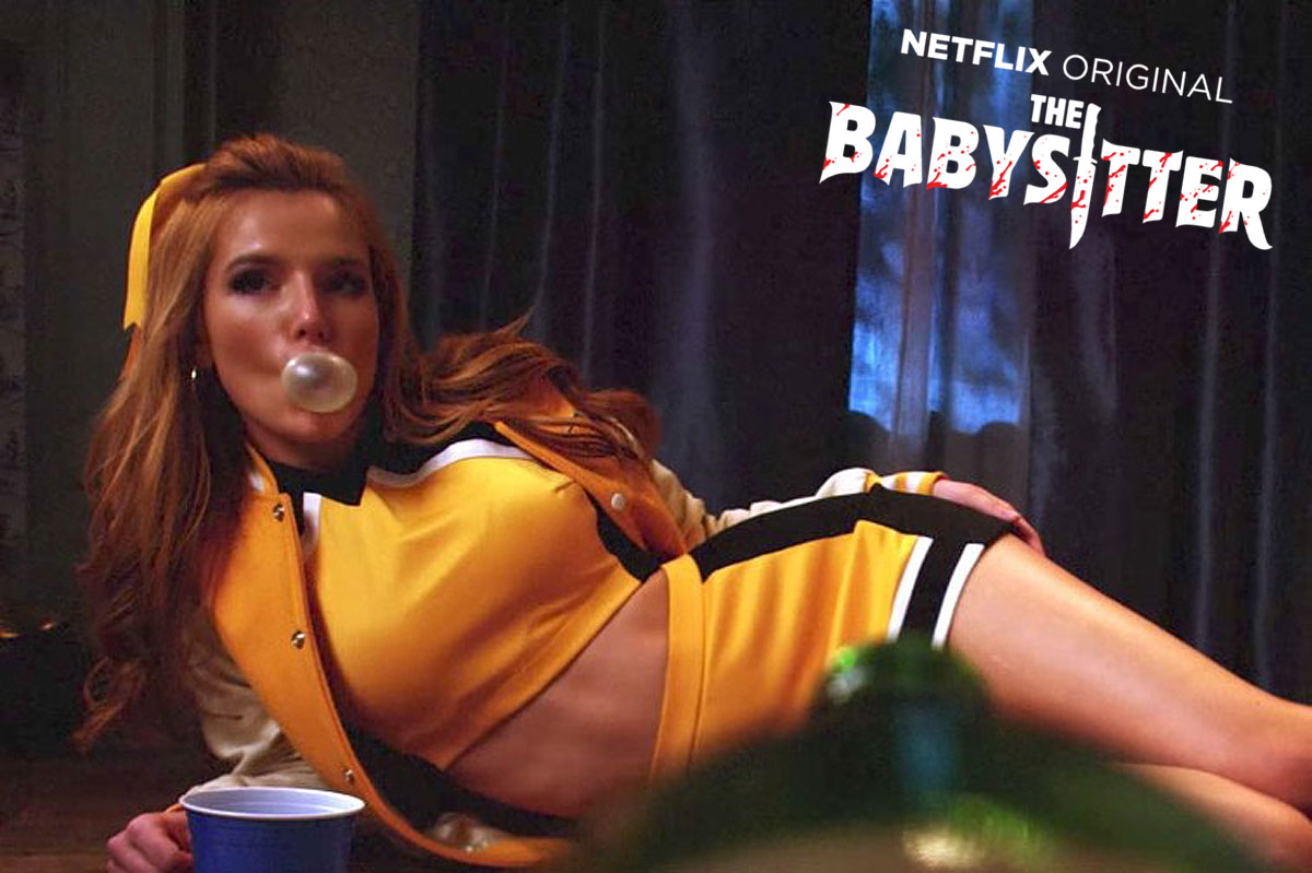 Bella Thorne in Netflix's The Babysitter