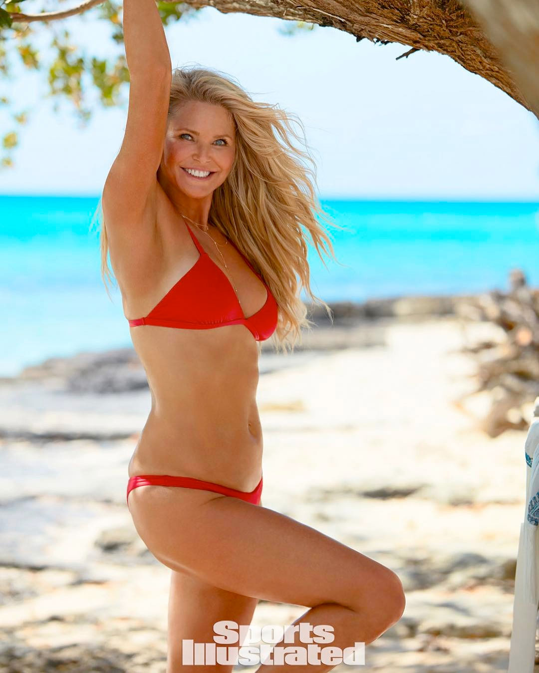 Christie Brinkley returns to the cover of Sports Illustrated