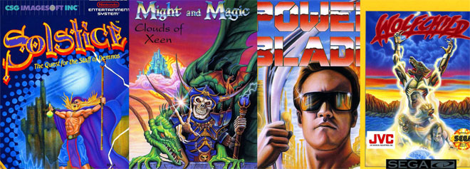 Classic Game Covers, Confessions of An Art Junkie