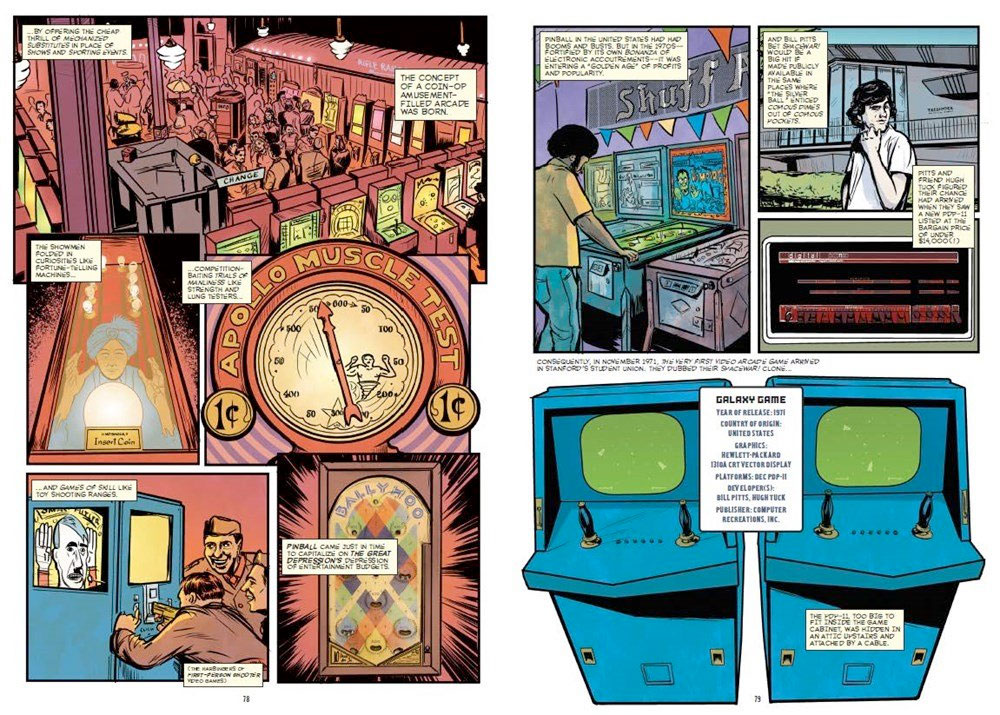 The Comic Book Story of Video Games book