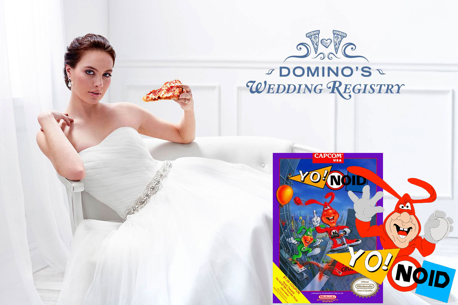 i thought domino 39 s wedding registry was brilliant On domino s wedding registry