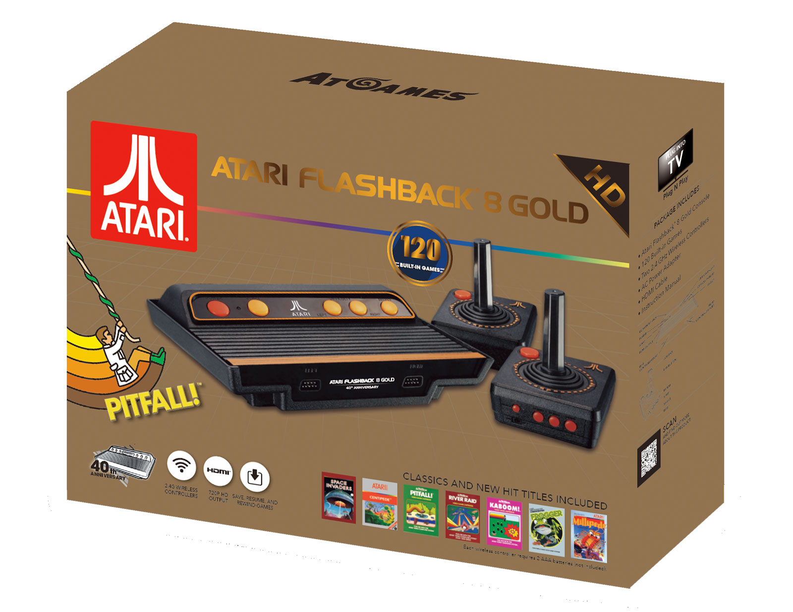 AtGames Atari Flashback 8 Gold Edition
