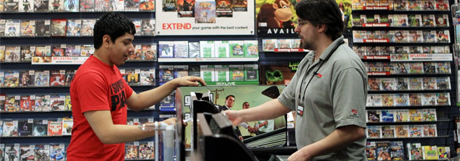 GameStop's in-store rental plan