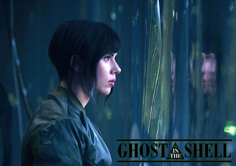 Ghost In The Shell movie with Scarlett Johansson