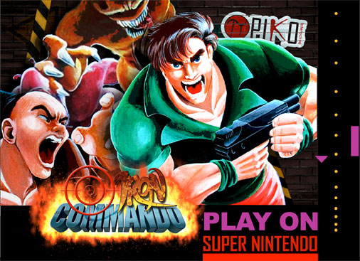 Iron Commando for SNES