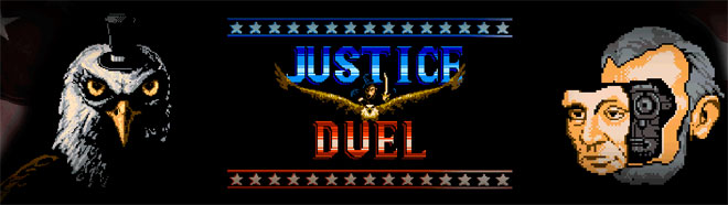 Justice Duel homebrew game for NES