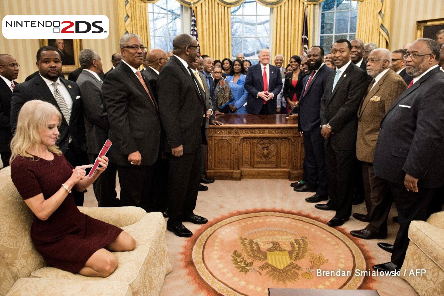 Playing games in the Oval Office