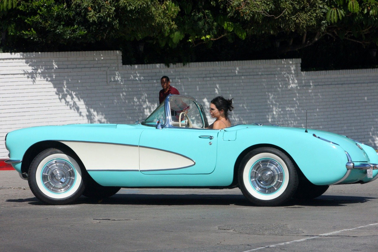 Kendall's 1957 Corvette Stingray