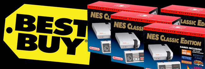 Best Buy's final shipment of NES Classic Editions
