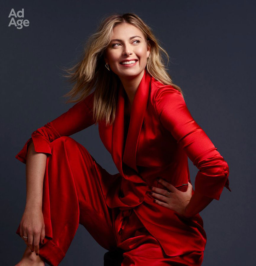 Maria Sharapova for Ad Age