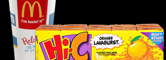 McDonald's is replacing Orange Lavaburst Hi-C
