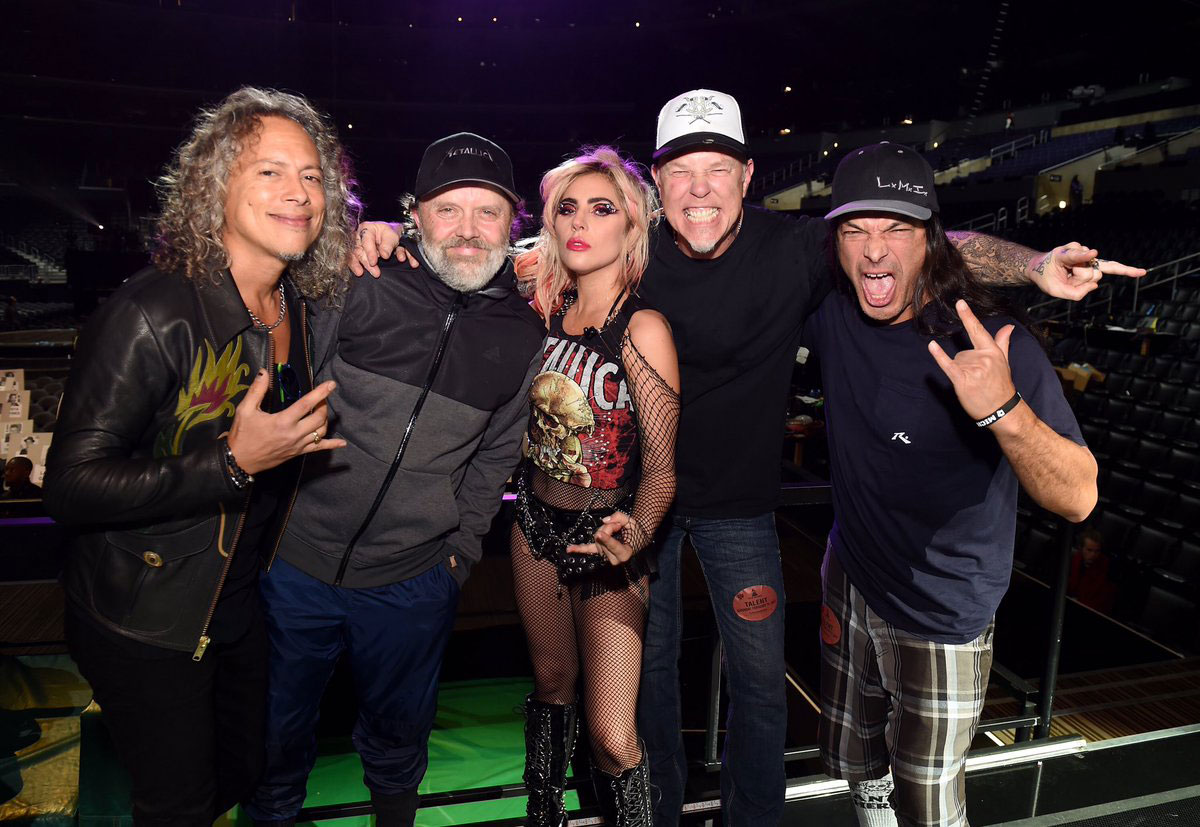 Metallica's duet w/ Lady Gaga at the Grammys