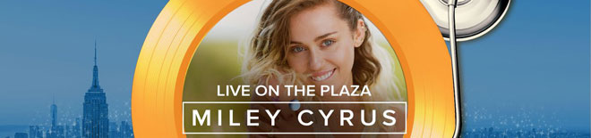 Miley Cyrus on the Today Show
