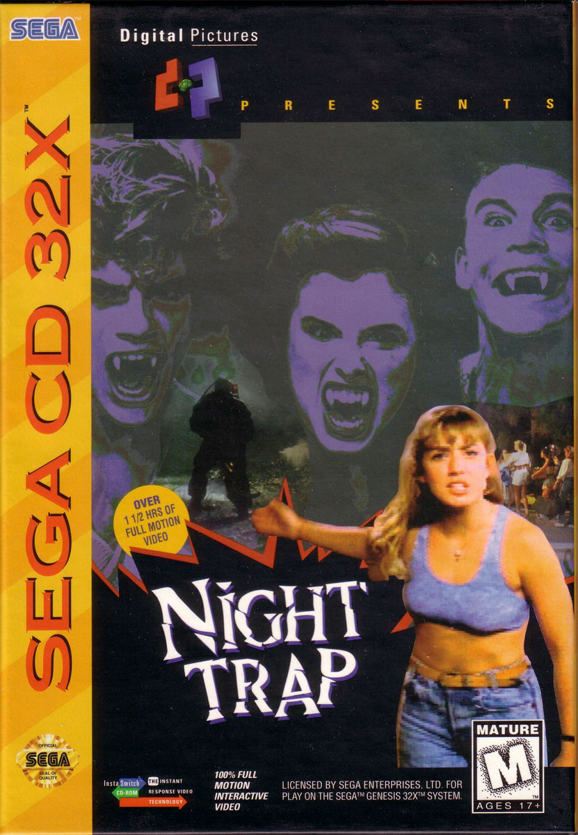Night Trap for SEGA 32X
