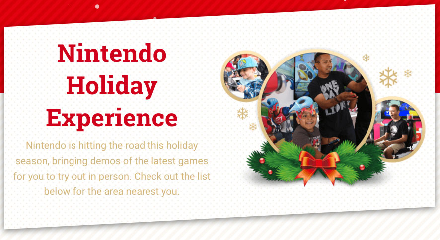 Nintendo Holiday Experience