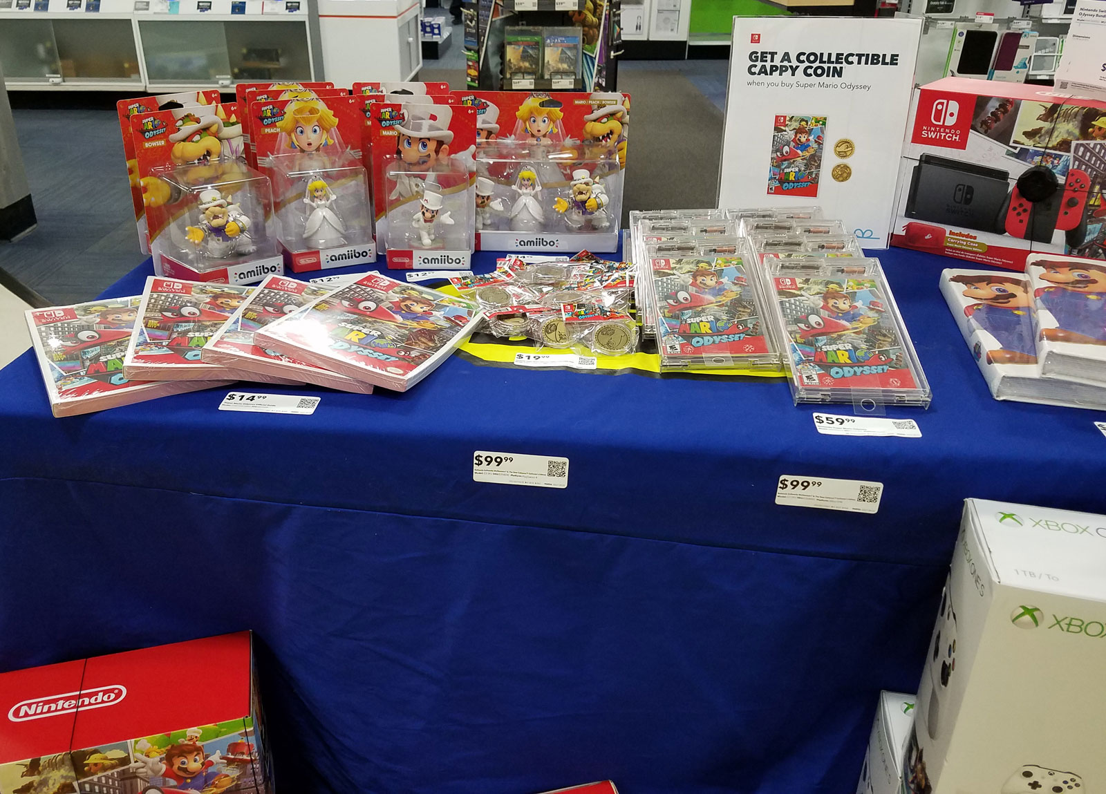 Super Mario Odyssey launch at Best Buy