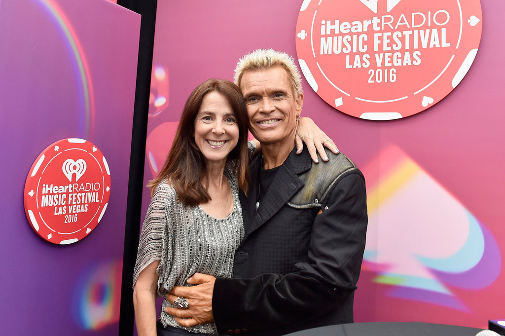 Billy Idol and Martha Quinn