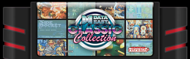 Retro-Bit's multigame collections: Data East All Star Collection