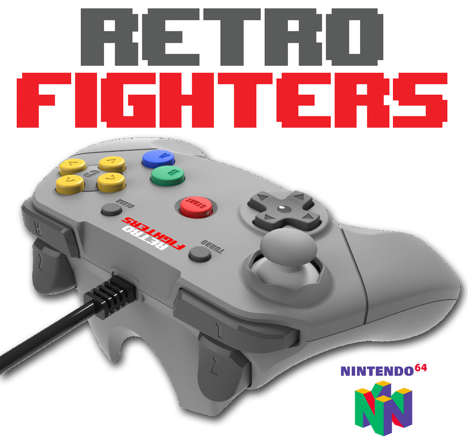 Retro Fighters Next Gen N64 Controller