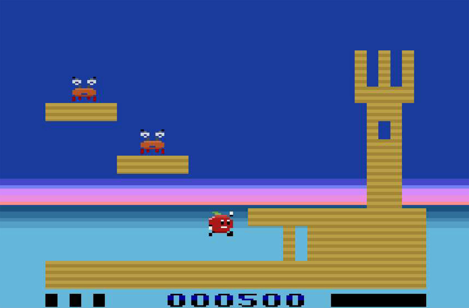 Sand Castles for the Atari 2600